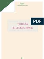 Errata Revistas Bimby