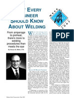 What Every Engineer Should Know About Welding
