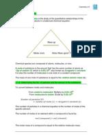 Quantitative Chemistry (Stoichiometry)