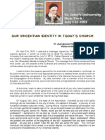 [0701-1 ENG] Our Vincentian Identity in Today's Church
