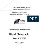 Digital Photography FETAC6
