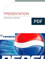 HR Practices in Pepsi