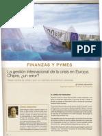 2013 06 Revista Innovatia 41 La Gestión Internacional de La Crisis Chipre ¿Un error? Artículo del profesor Daniel Maganto Iniesta