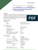ITU-T G.652.D specs