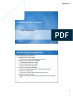 Clase 10 Calidad Software AdministracionConfiguracion