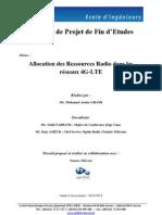 Allocation des Ressources Radio dans les réseaux 4G-LTE