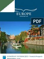 ETC European Tourism 2013 - Trends & Prospects Q1