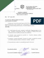 Deciziile CO Edineţ Şedinţa nr. 18 din 28 iunie 2013