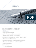 Board Meeting Sept-12