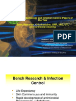 Best Papers in Infection Control 2013