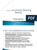 Telecom switching network basic ppt