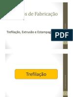 Processos de Fabricação_Extrusão, Trefilação e Estampagem