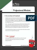 5 Professional Mindset 41 50