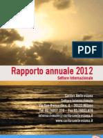Caritas Ambrosiana - Settore Internazionale Annual Report 2012