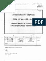 Normas Tecnicas de La Ande 5356-1 en Adelante