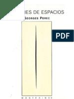 Perec Georges - Especies de Espacios