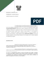 PROCESSO Nº 130855 VETO LEI RESIDUOS SÓLIDOS