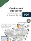 WL City Council - Sign Presentation 2013-07 (Sarah)