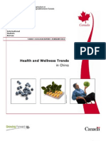 Health Welness Trends China