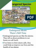 94846868 Endangered Species