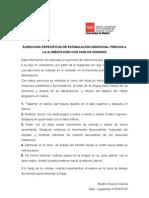 EJERCICIOS ESPECÍFICOS DE ESTIMULACIÓN OROFACIAL PREVIOS A LA ALIMENTACIÓN CON CARLOS RODRIGO