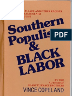 Southern Populism and Black Labor