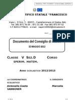 Doc 15maggio2013 QuintaD