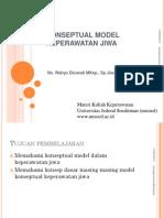 Konseptual Model Kepwatan Jiwa