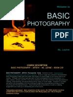 Basic Photo Intro