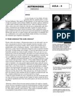 ASTRONOMIA 4 - DIMENSÕES DO UNIVERSO QUE CONHECEMOS