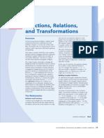 Trasnformation of Functions
