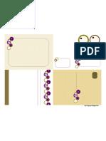 Purple Rounds Invite Suite Template