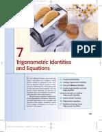 Trigonometric Identities and Equation