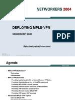 RST 2602 Mpls VPN Deployment