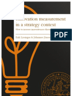 Innovation Measurement in a Strategy Context