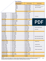 2009 SmartSource Insert Schedule