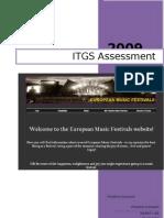 IB ITGS Project Raport