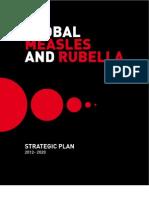 Measles Rubella StrategicPlan 2012 2020