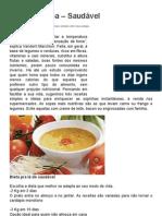 Dieta da Sopa – Saudável