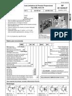 Válvula Limitadora de Pressão Proporcional DBE