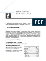 TI-Nspire Chap01 Decouverte Nspire