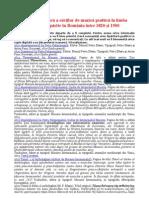 Cărţi de muzică psaltică româneşti tipărite în România 1820-1900  download