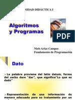 Algoritmod y Programas