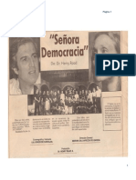 Señora Democracia  1.987