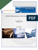 ISO 9001 Benefits Process