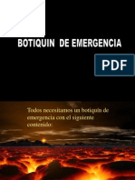 Botiquin para curar el alma (First Aid Kit for the Soul)