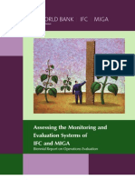 Assessing the Monitoring and Evaluation Systems of IFC and MIGA Biennial Report on Operations Evaluation