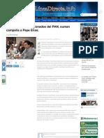 01-07-2013 Operadores decepcionados del PAN, suman campaña a Pepe Elías.