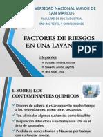 Factores de Riesgo en El Trabajo Sector Lavanderia