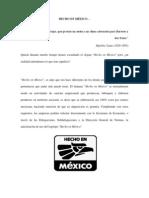 Hecho en Mexico - por Andrea Luquin